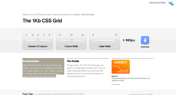 1KB CSS GRID - arunace blog