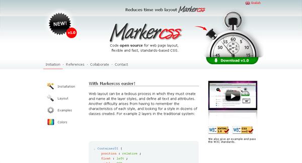 marker css framework - arunace blog