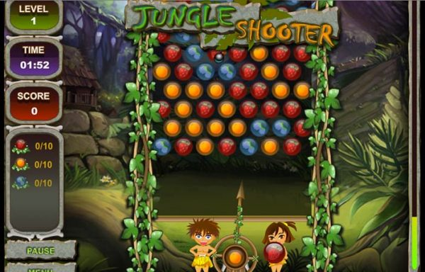 jungle shooter - arunace
