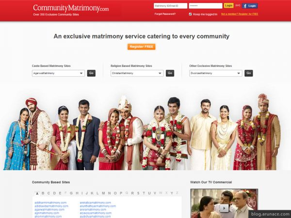community-matrimony-arunace