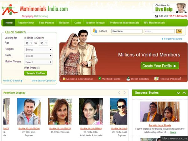 matrimonials-india-arunace