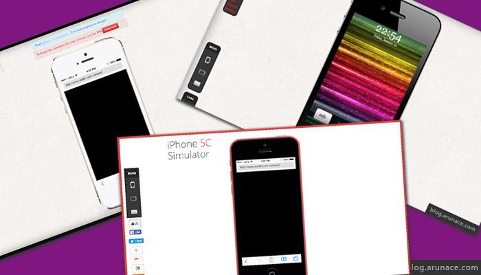iphone4simulator.com - iphone5simulator - iphone5csimulator - ipad iphone simulators - arunace
