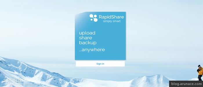 rapidshare - arunace