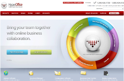 HyperOffice Collaboration Software - arunace