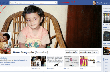Facebook Shortcut Keys - Arunace