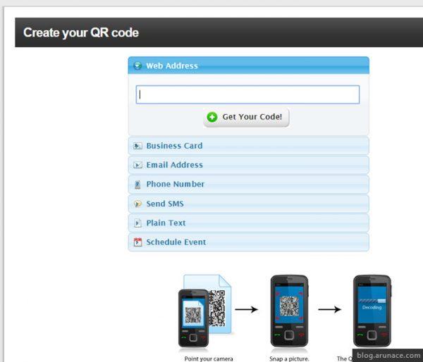 app qreateandtrack arunace