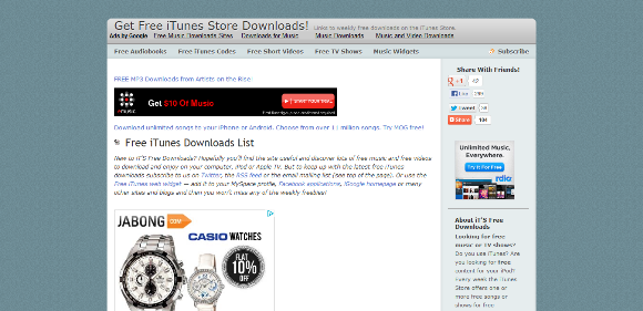 itsfreedownloads Get Free iTunes Store Downloads Arunace