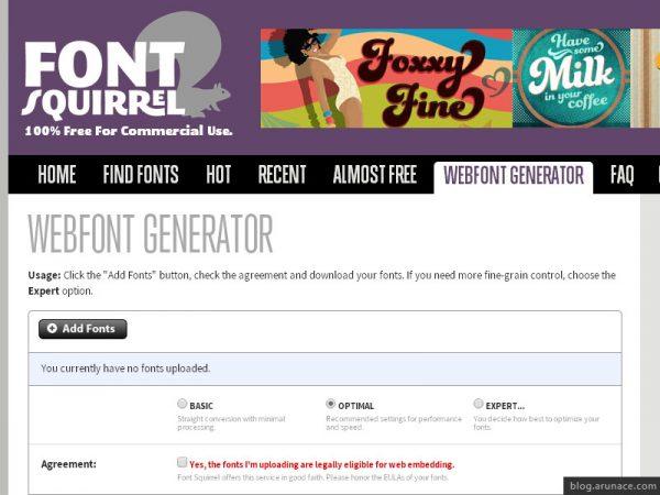font-squirrel-webfont-converter-arunace