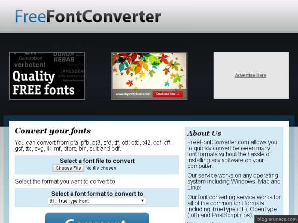 Top 10 Free Online Font Converters - Arunace Blog