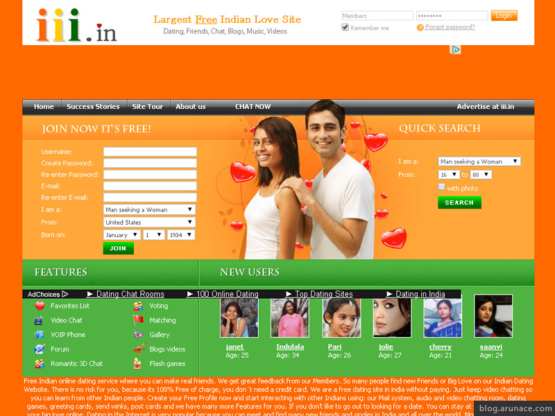 Dating sites chat in india