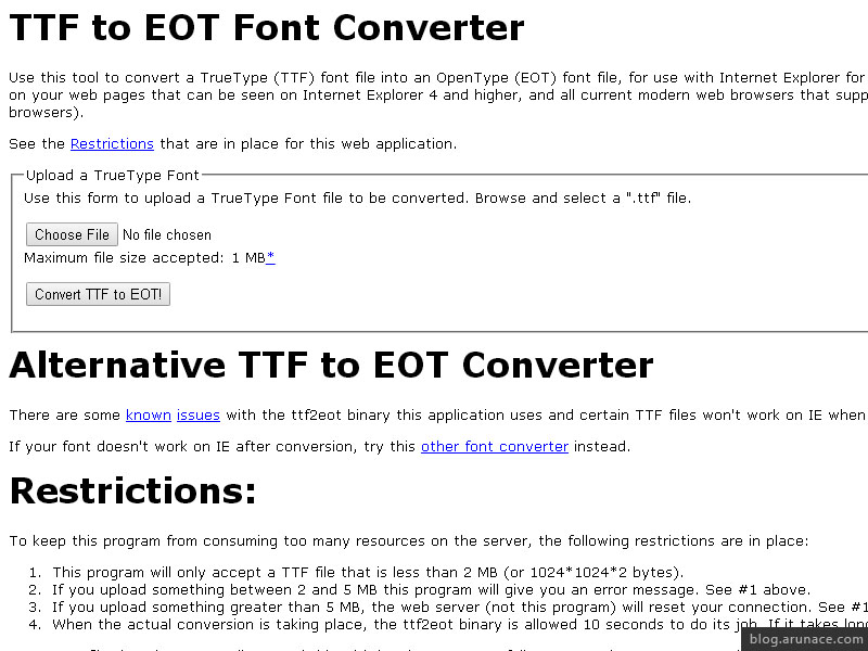 Top 10 Free Online Font Converters - Arunace Blog