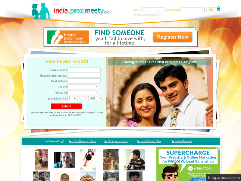Online chat and dating in india