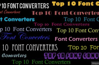 Top 10 online font conveters - arunace