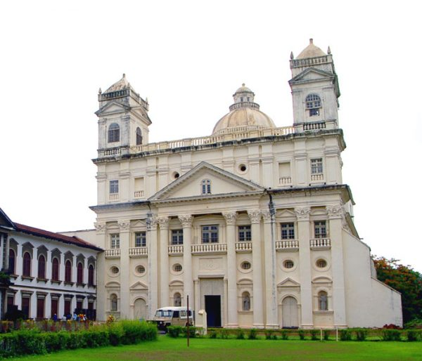 churches of old goa arunace