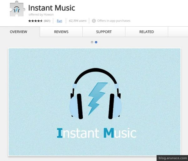 instant music arunace