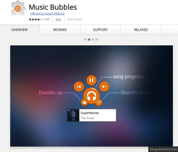 music bubbles arunace