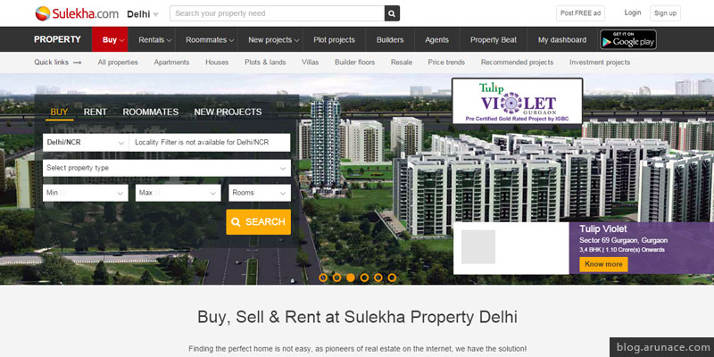 sulekha property arunace