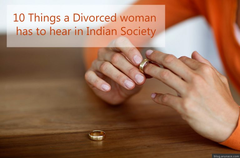 10 Things Divorced Women have to face in India | Hardships
