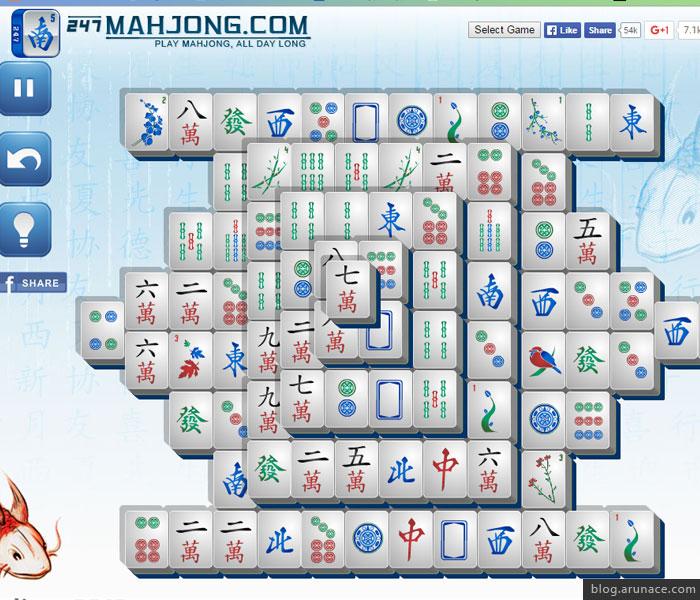 mahjong arunace