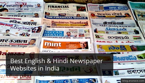 best-english-hindi-newspaper-websites-india-arunace