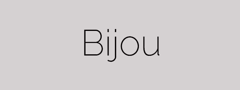 bijou css framework - arunace