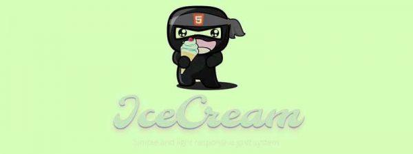 ice cream css framework - arunace