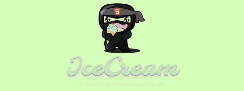 ice cream css framework - arunace