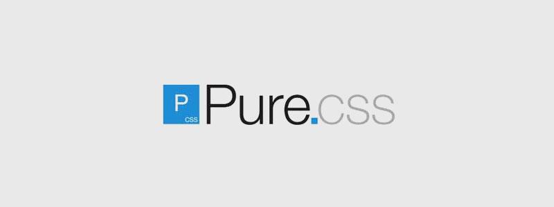 purecss lightweight css framework - arunace