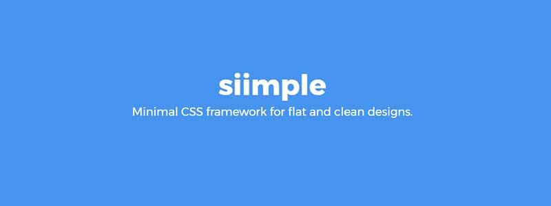siimple css framework - arunace