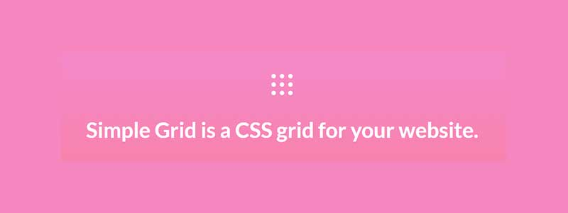 simple css framework - arunace