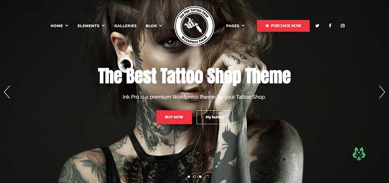 Ink pro wordpress theme - arunace blog