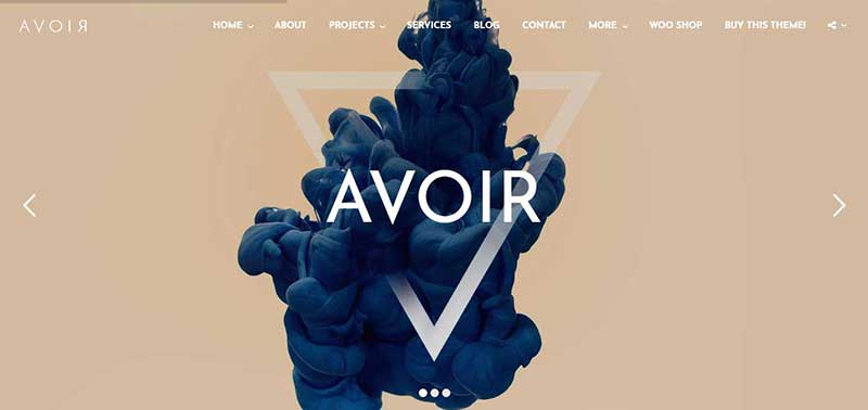 avoir wordpress theme - arunace blog