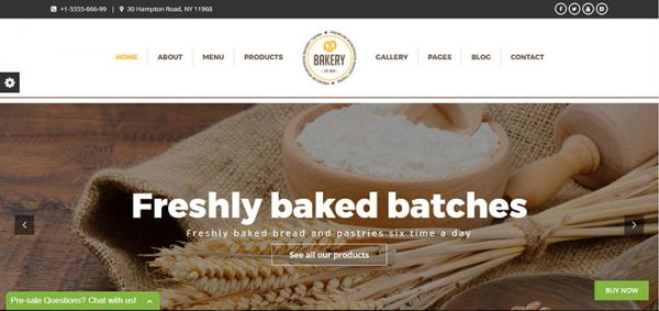 bakery cakery wordpress theme - arunace blog