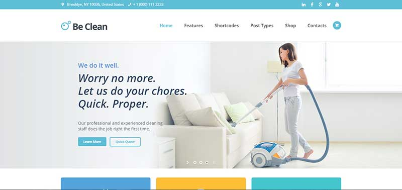 beclean wordpress theme - arunace blog