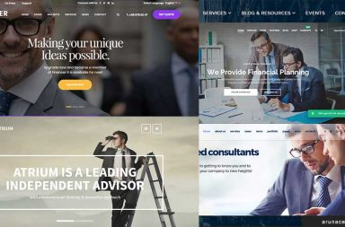 best finance company wordpress themes - arunace blog