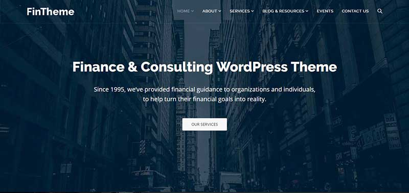 fintheme wordpress theme - arunace blog