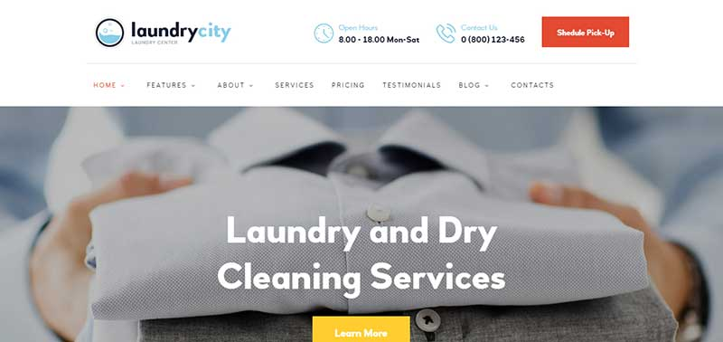 laundrycity wordpress theme - arunace blog