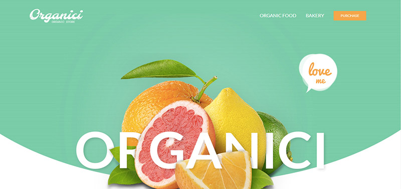 organici wordpress theme - arunace blog