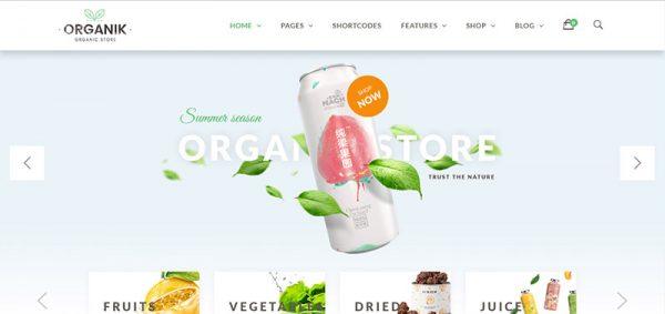 organik wordpress woocommerce theme - arunace blog