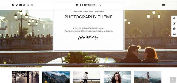 photography wordpress theme - arunace blog