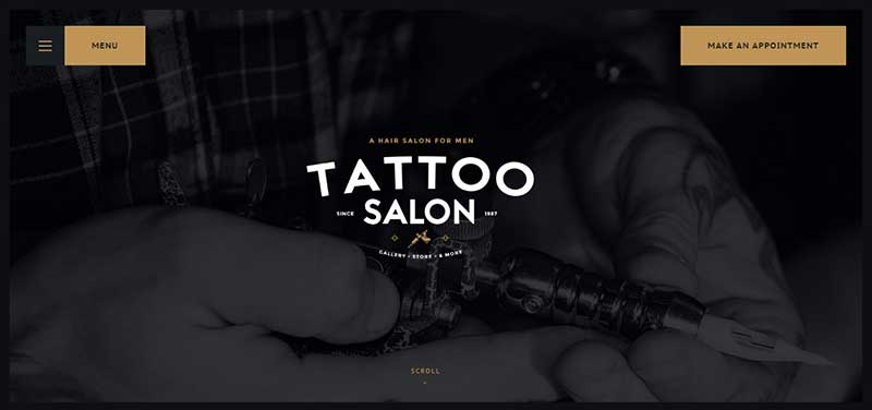 salon wordpress theme - arunace blog