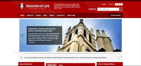 wisdom of life wordpress theme - arunace blog