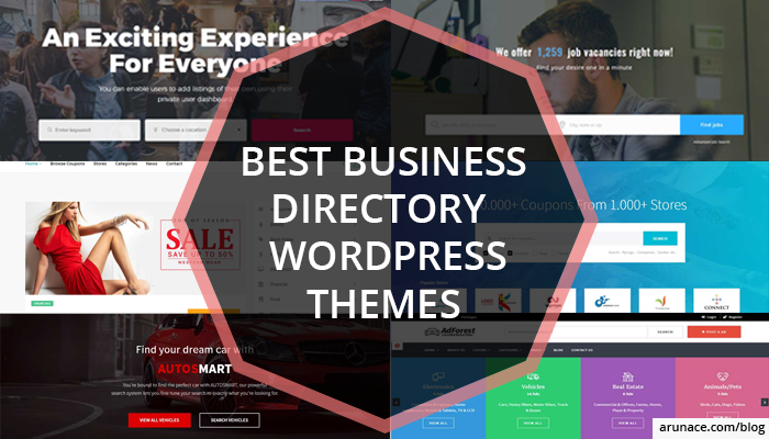 best business directory wordpress themes arunace blog