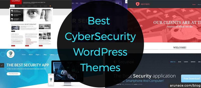 best cybersecurity wordpress themes arunace blog