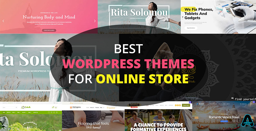 best wordpress themes for online stores review arunace