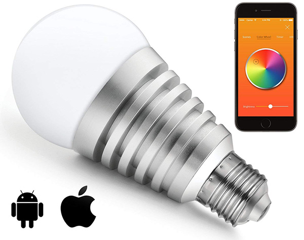 mansaa smartshine bluetooth wireless 9 watt smart bulb arunace blog