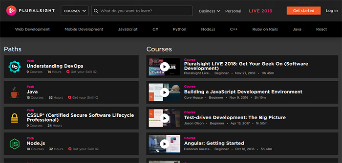 pluralsight review and online courses