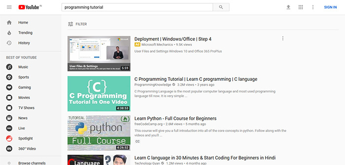 youtube online courses arunace blog